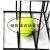 72個のテニス拾ったボールバスケット/拾ったボール枠テニバスケットにテニススを装着します。