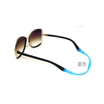 ワンマンショー(own's)シリカゲルのスポーツ用メガネの紐が外れないようにします。ランニング用メガネのひもが青にならないようにします。