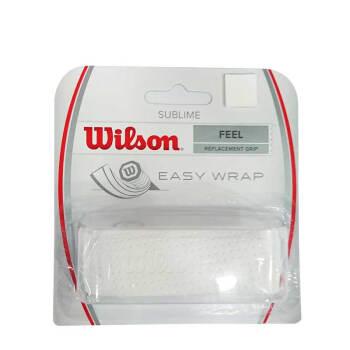 WILSON Wilon Wilonラッピンググリップ汗滑り止めグリップグリップテープPRO OVERGRIPホワイトWRZ 4202 WH