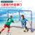 手ブレネット赤同款ドトーンネット红子供初心者スカッシュトニックベースのラケトトレーニング机自动回弹体育玩具神器270-25サッカーゴール配球